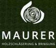 Logo MAURER Holzschlägerungen & Bringung