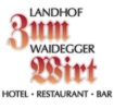 Logo: Landhof zum Waidegger Wirt  Hotel - Restaurant - Bar