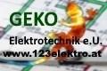 Logo GEKO Elektrotechnik e.U. in 3932  Kirchberg am Walde