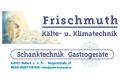 Logo Manfred Frischmuth Kälte- & Klimatechnik Gastrogeräte - Schankanlagen