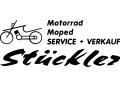 Logo St�ckler Fredy  Motorrad - Moped  Service + Verkauf