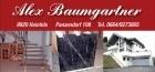 Logo Alex Baumgartner  Verputzarbeiten - Wärmedämmung - Marmor - Granit - Fliesen