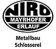 Logo Schlosserei – Metallbau Ludwig Mayrhofer e.U.