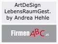 Logo ArtDeSign LebensRaumGestaltung  by Andrea Hehle