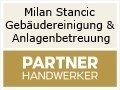 Logo Milan Stancic  Gebäudereinigung & Anlagenbetreuung