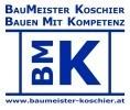 Logo BMK Bauen Mit Kompetenz  Hoch- und Tiefbau e.U. Baumeister Dipl. Ing. KOSCHIER