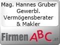 Logo Mag. Hannes Gruber  Gewerbl. Vermögensberater & Makler