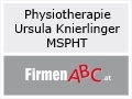 Logo Physiotherapie Ursula Knierlinger, MSPHT