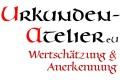 Logo: Urkunden-Atelier e.U.