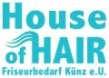 Logo House of Hair Friseurbedarf Künz e.U.
