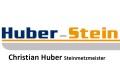 Logo: Huber-Stein  Steinmetzmeister  Christian Huber