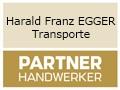 Logo Harald Franz EGGER  Transporte-Baggerungen