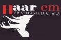 Logo Haar-em Friseurstudio e.U.