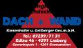 """Logo """"Dach + Wand""""  Kiesenhofer u. Grilberger Ges.m.b.H."""