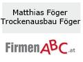 Logo Matthias Föger Trockenbau Föger