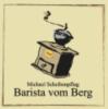 Logo Barista vom Berg  Inh. Michael Scheibenpflug  Kaffeerösterei