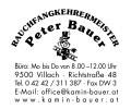 Logo Rauchfangkehrermeister Bauer Peter