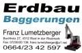 Logo Erdbau Baggerungen  Franz Lumetzberger e.U.