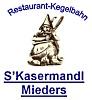 Logo: Restaurant-Kegelbahn  s'Kasermandl