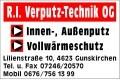 Logo: R.I. Verputz-Technik OG