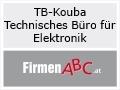 Logo: TB-KOUBA  Technisches Büro für Elektrotechnik  Inh. Ing. Michael Kouba