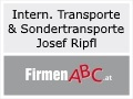 Logo Internationale Transporte &  Sondertransporte  Josef Ripfl