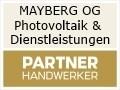 Logo MAYBERG OG Photovoltaik & Dienstleistungen