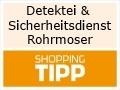 Logo Detektei und Sicherheitsdienst  Rohrmoser