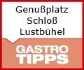 Logo Genußplatz Schloß Lustbühel