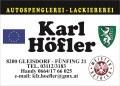 Logo Karl Höfler Spenglerei & Lackiererei & Oldtimerrestaurierungen