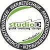 Logo studioD - Grafik Werbung Design