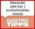 Logo Alexander  cafe-bar|kochschmiede|events