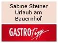 Logo Sabine Steiner  Urlaub am Bauernhof