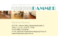 Logo FUSSBODEN PAMMER Verkauf - Verlegung - Renovieren - Schleifen - Versiegeln - Ölen