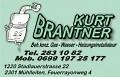 Logo Brantner Kurt  Beh. konz. Gas-Wasser-Heizungsinstallateur