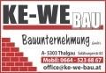Logo: KE-WE Bau  Bauunternehmung GmbH