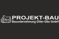 Logo Projekt-Bau  Bauunternehmung Ohler Otto GmbH