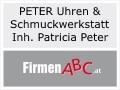 Logo: PETER Uhren & Schmuckwerkstatt  Inh. Patricia Peter