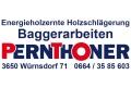 Logo: Peter Pernthoner  Baggerarbeiten - Energieholzernte