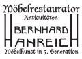 Logo Möbelrestaurator  Bernhard Hanreich