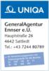 Logo Generalagentur Ennser e.U.  Versicherungen und Kfz Zulassungsstelle