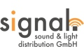 Logo signal sound & light distribution GmbH