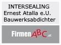 Logo: INTERSEALING Ernest Atalla e.U.   Bauwerksabdichter