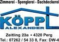 Logo Köppl Alexander GmbH Dachdecker - Spengler - Zimmerei