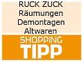 Logo RUCK ZUCK  Räumungen-Demontagen-Altwaren