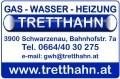 Logo Gas-Wasser-Heizung Tretthahn e.U. in 3900  Schwarzenau