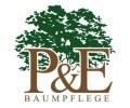 Logo Baumpflege P & E GmbH Gartengestaltung & Baumkontrolle