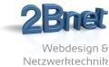 Logo 2Bnet Webdesign & Netzwerktechnik  Ludwig Buchinger