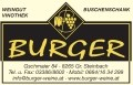 Logo Weingut Burger