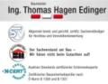 Logo Baumeister  Ing. Thomas Hagen Edinger